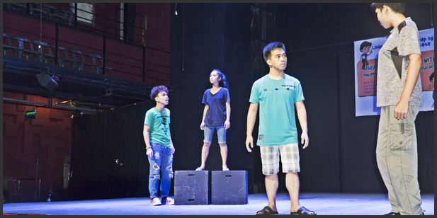 Teater-workshop om barns rettigheter